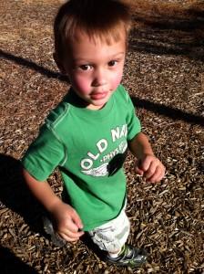 Jayson age 3