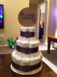 Diaper cake