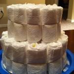 Diaper Cake Step 2.5