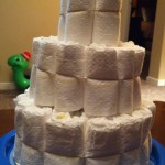 Diaper Cake top tier