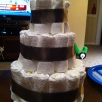 diaper cake ribbon