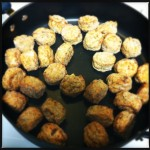 dry meatballs