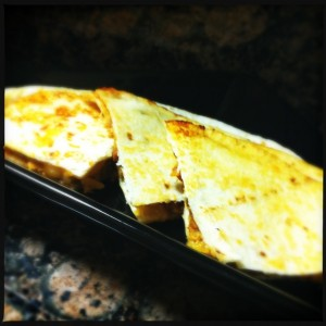 BBQ Chicken Quesadilla1