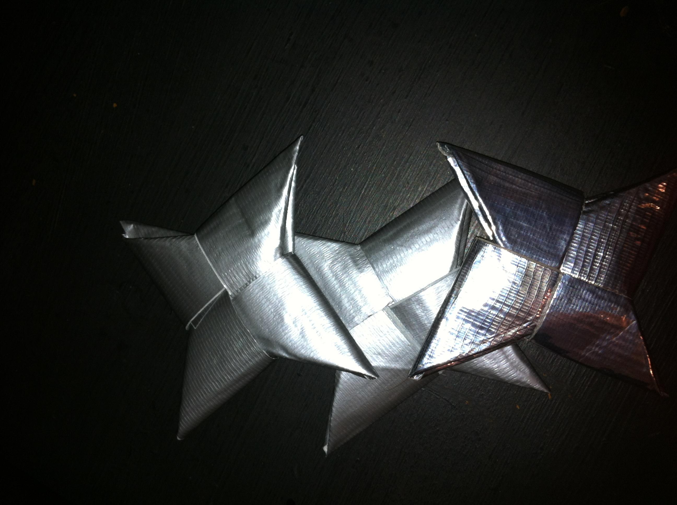 Duct Tape Ninja Star t - photo#26