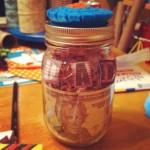 Dad Mason Jar Gift