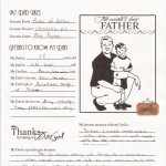 All about Dad- Derryk