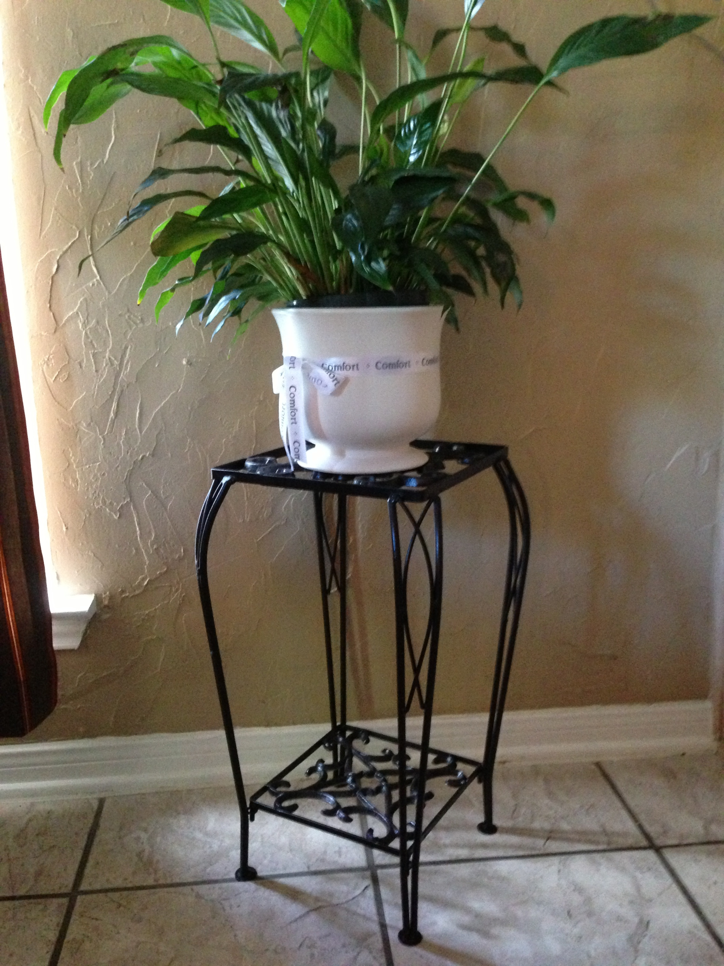 Painted Plant Stands | Messi Jessi