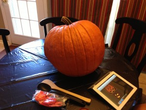 Prepare pumpkin