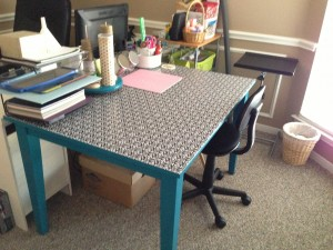 Finished Craft Table