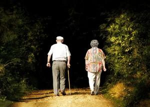 ElderlyCoupleWalkingAway