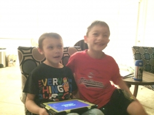 Ethan and Jayson